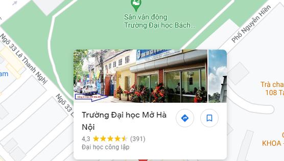 Học E-learning trực tuyến tại Viện Đại học Mở Hà Nội