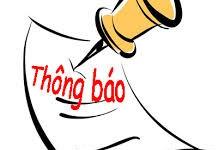 Thông báo tạm thu học phí kỳ 1 các ngành khác áp dụng cho Sinh viên tuyển đầu vào học tại trường TC THKT Sài Gòn và trường TCCN&KT Đối Ngoại