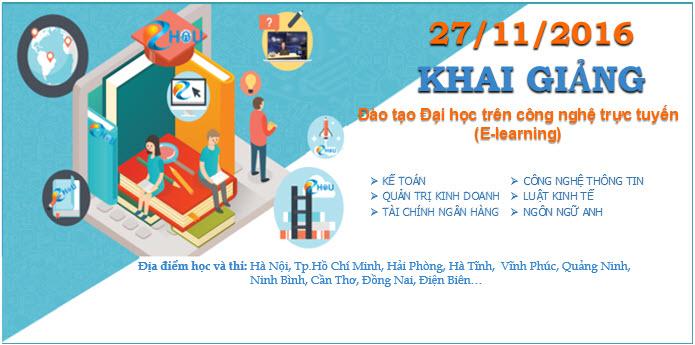 Khai giảng Chương trình đào tạo Đại học trực tuyến EHOU ngày 27/11/2016 tại Hà Nội