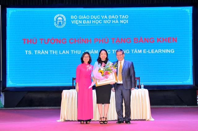 Viện Đại học Mở Hà Nội tổ chức Hội nghị cán bộ viên chức năm 2016