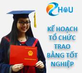 Kế hoạch tổ chức trao bằng tốt nghiệp Đại học đợt I năm 2018 tại Hà Nội